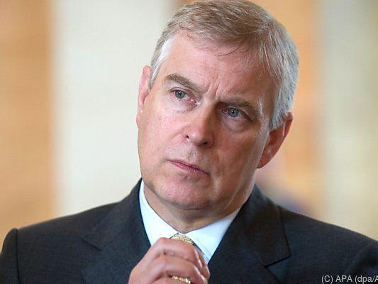 Prinz Andrew distanzierte sich von Epstein