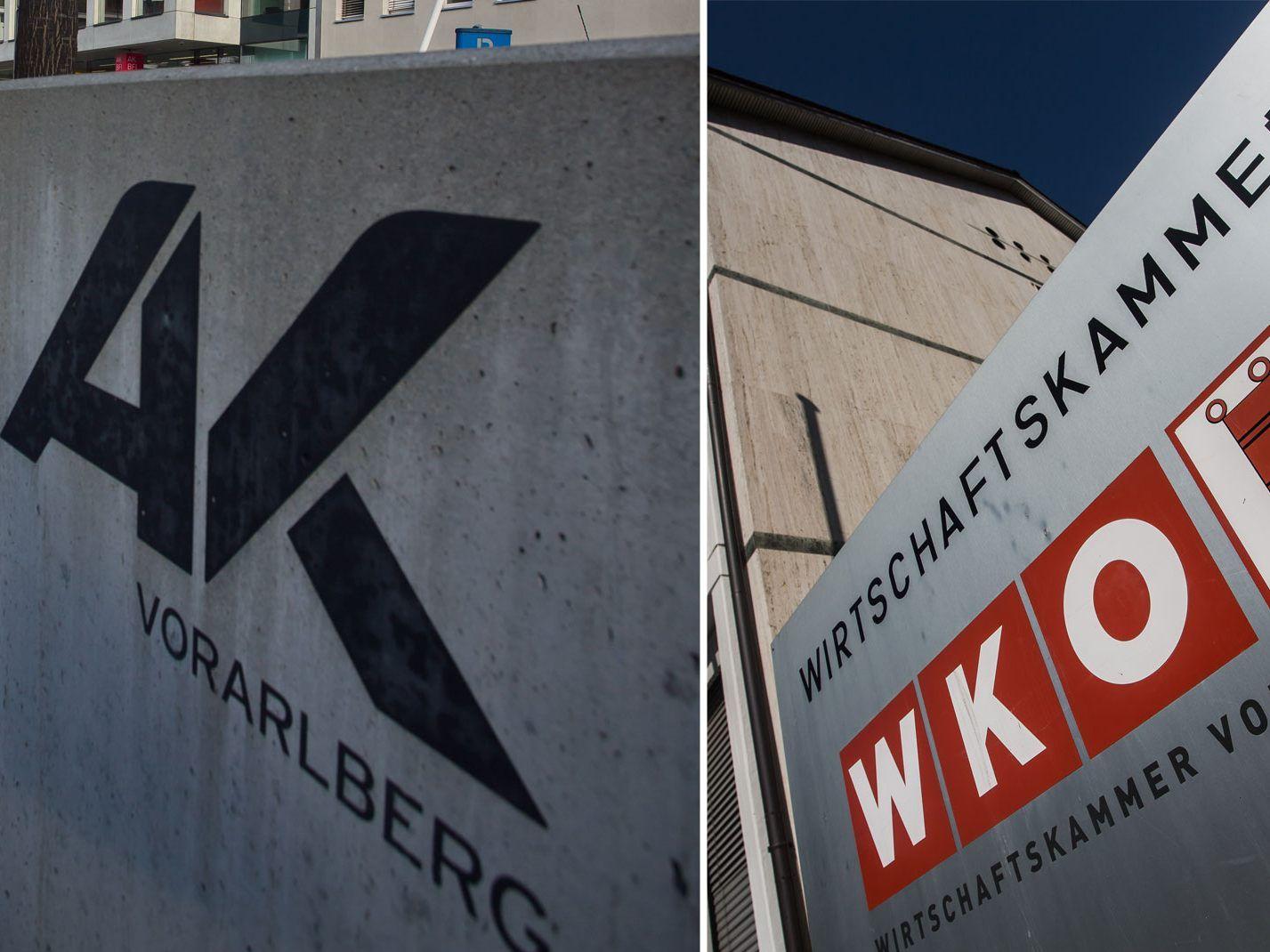 Werbung von AK und WK - Das geben die Kammern aus