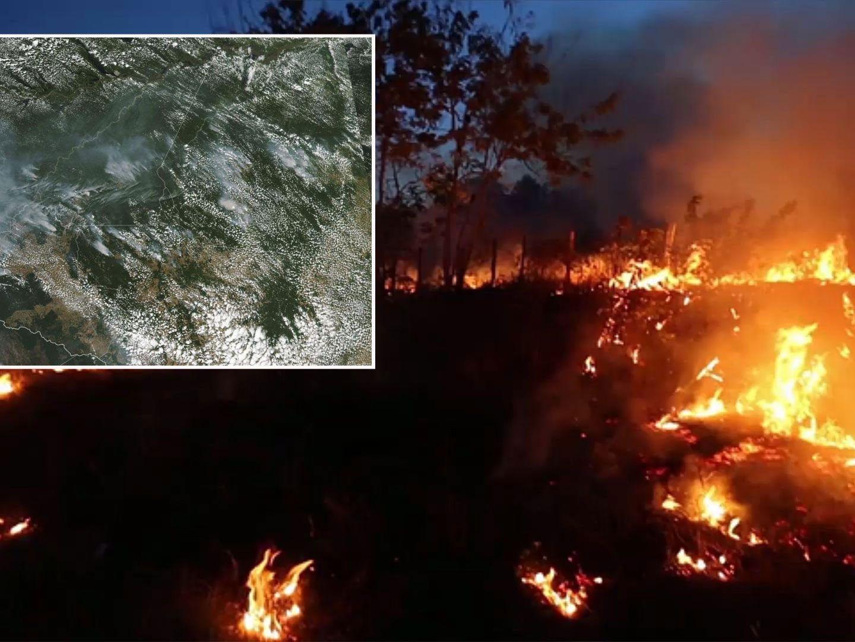 Waldbrände im Amazonas auf Rekordhoch: Gespenstige Szenen in Sao Paulo