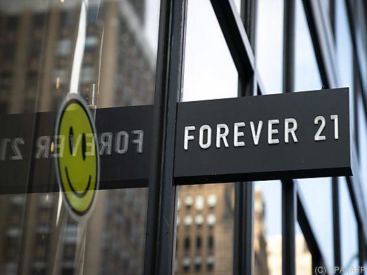 Billig-Modekette Forever 21 meldet Insolvenz an