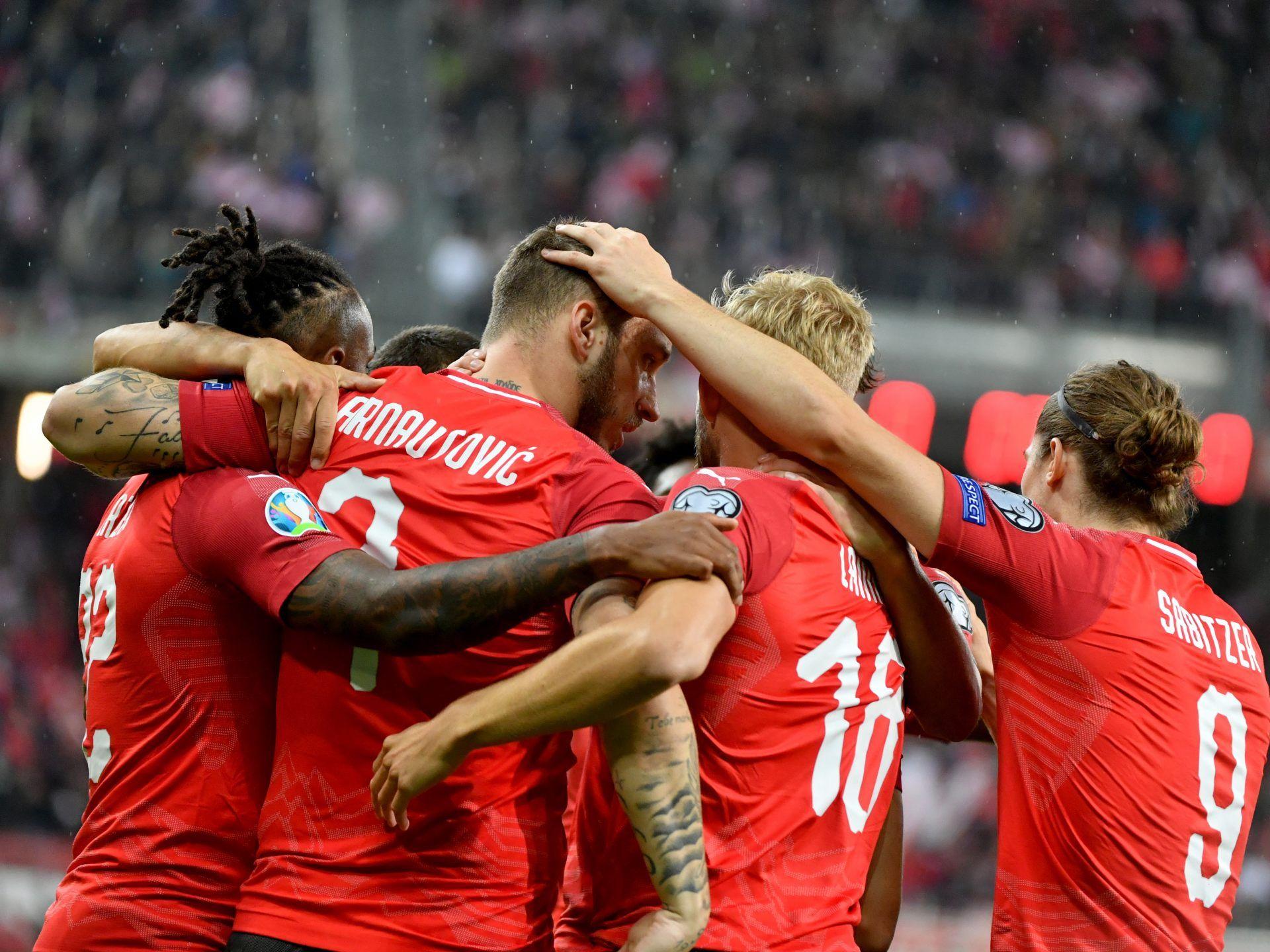österreich Gegen Lettland