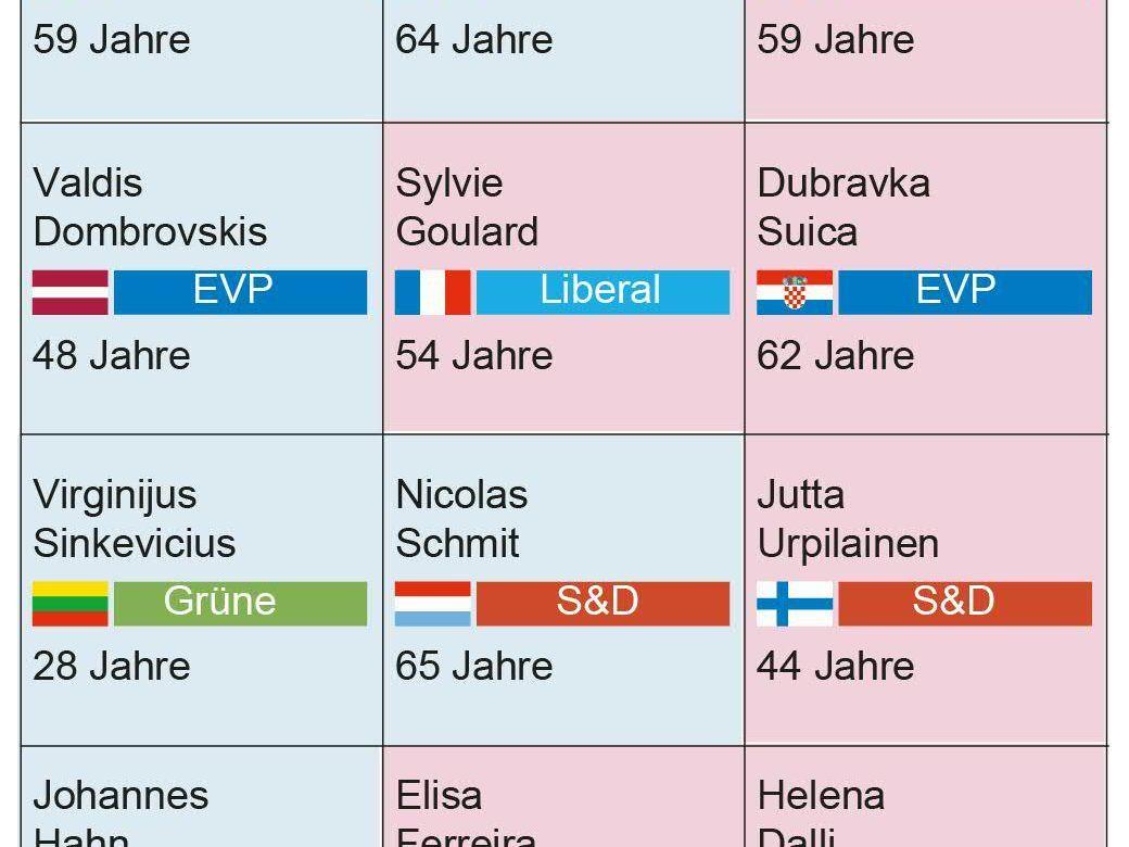 Von der Leyen benennt drei mächtige Stellvertreter — EU-Kommission