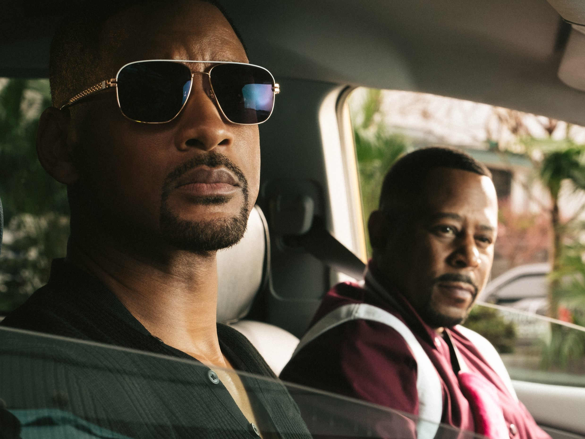 Mike Lowrey (Will Smith, l.) und Marcus Burnett (Martin Lawrence, r.) in Sony Pictures' BAD BOYS FOR LIFE.