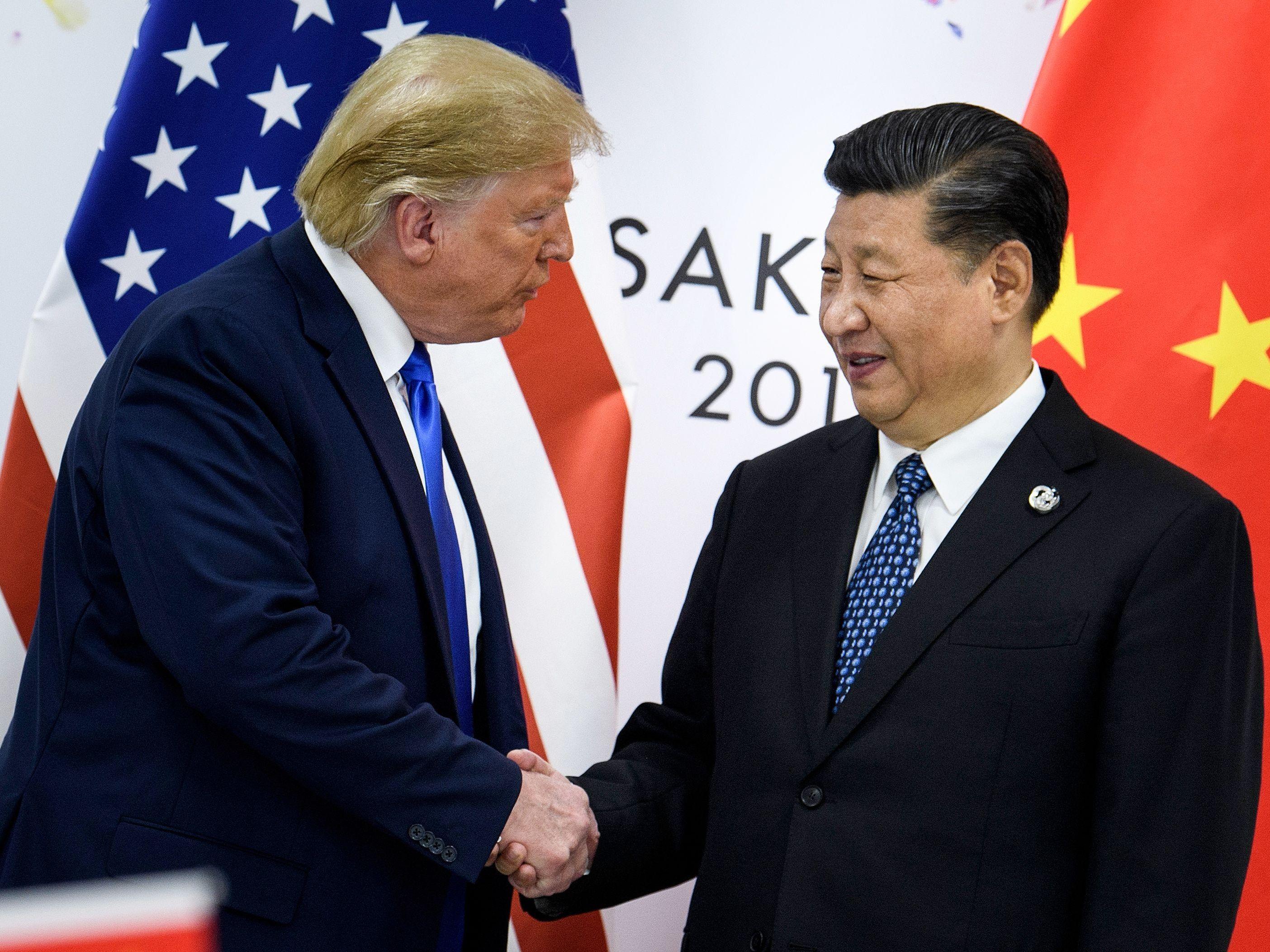 Handelsstreit mit China: Trump verkündet Teileinigung