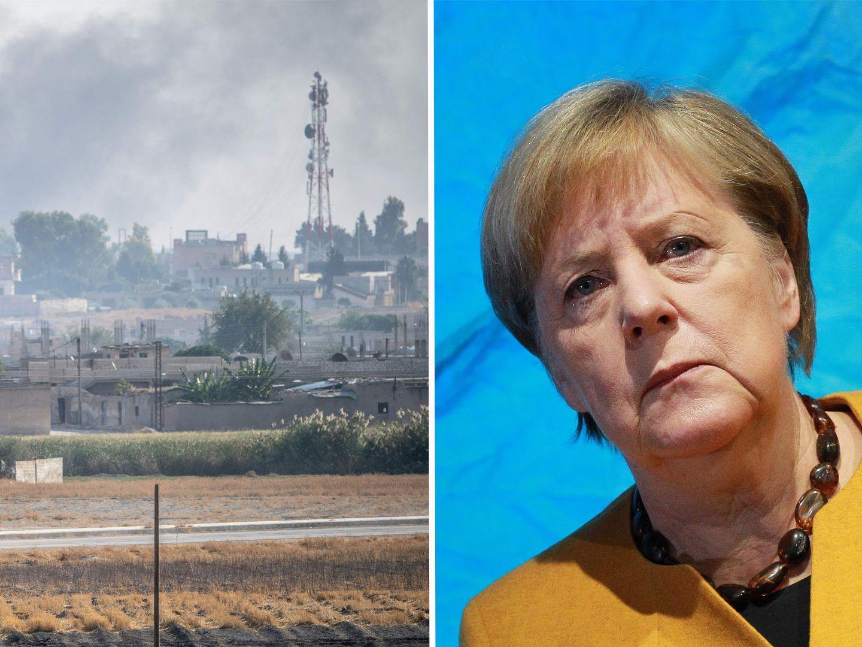 Türkischer Einmarsch in Syrien - Erdogan beschwert sich bei Merkel