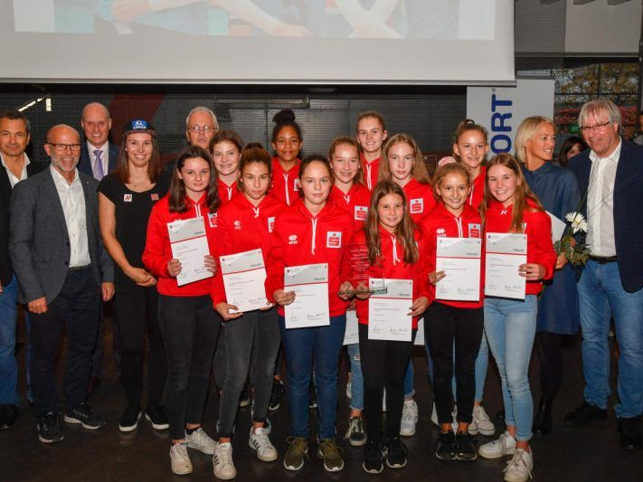 BG Bregenz Goldmedaille im Volleyball