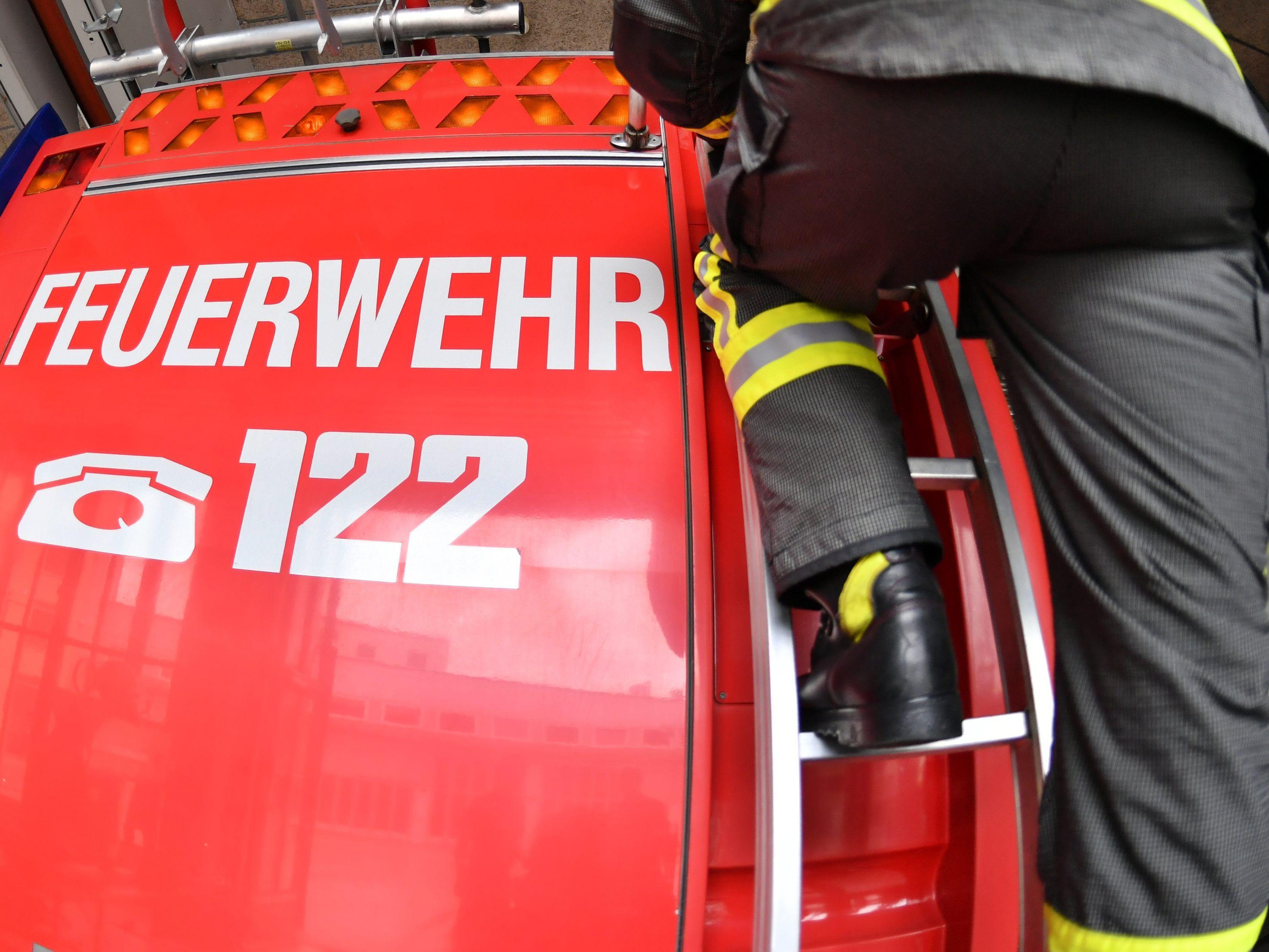 Gaschurn: Brand bei der Bergrettung