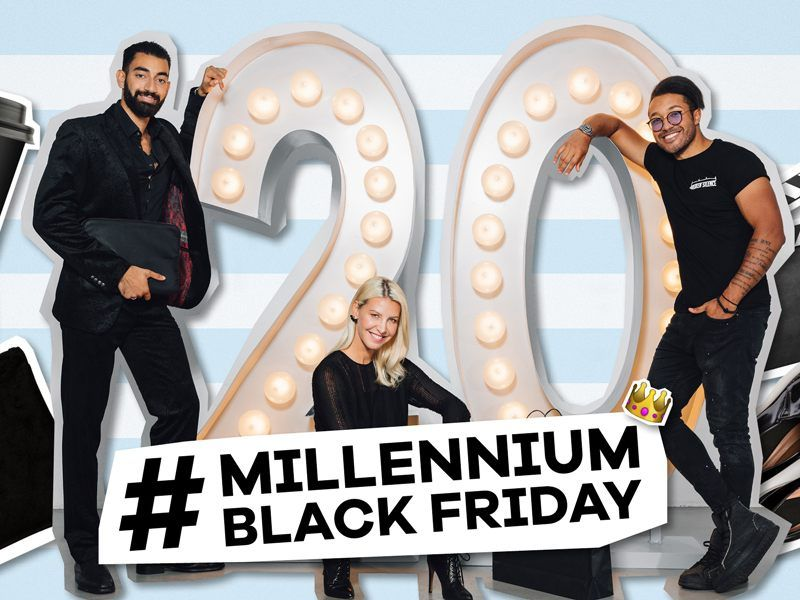 Die Millennium City lädt zur großen Black Friday Party.