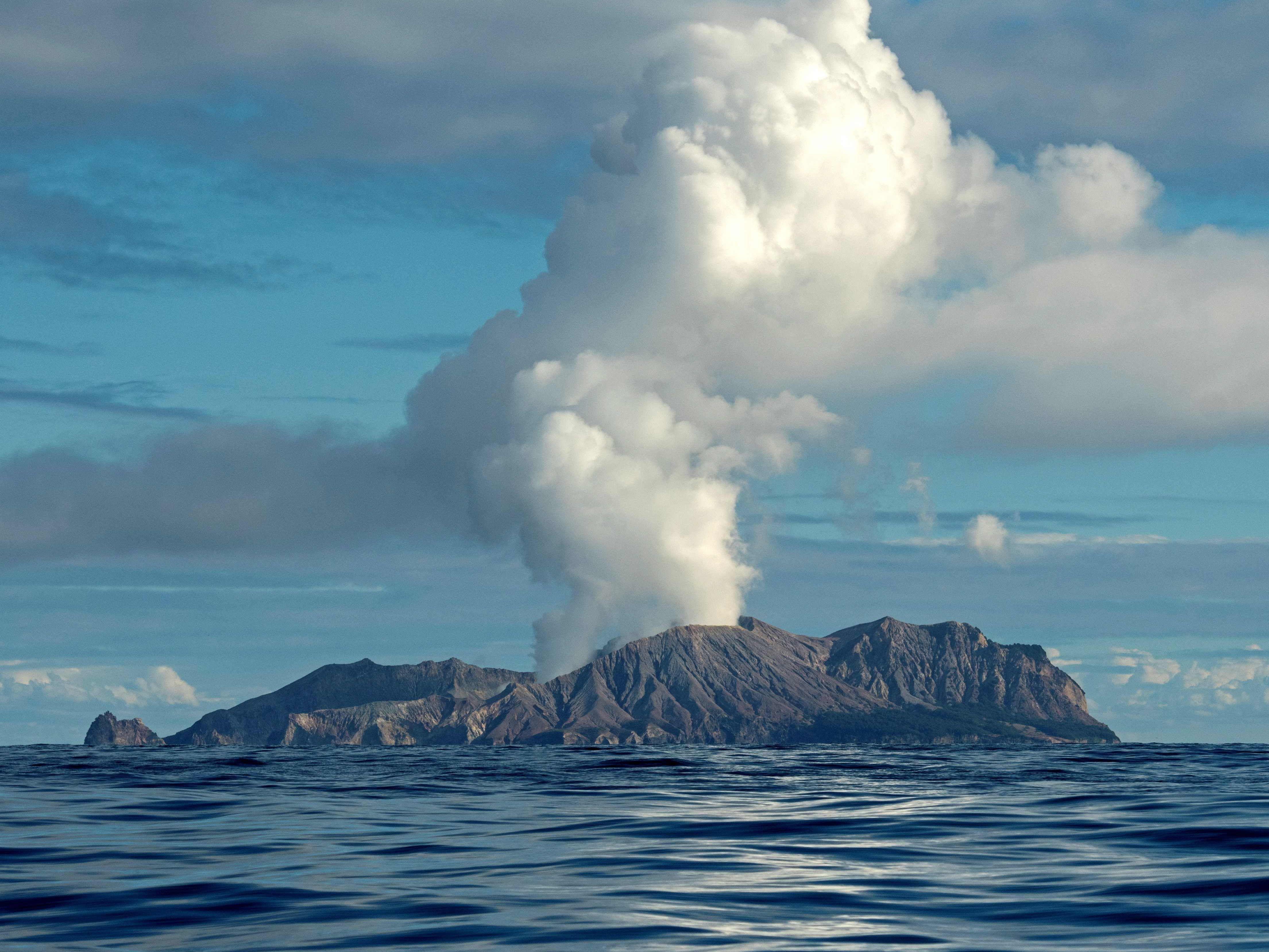 Vulkanausbruch auf White Island in Neuseeland: Vermisste und Verletzte