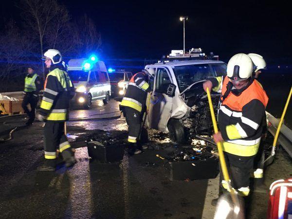 Zwei Schwerverletzte nach Unfall im Bregenzerwald