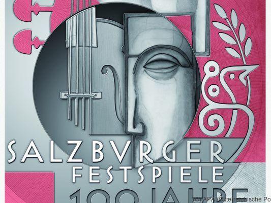 Großes Festspielhaus in Salzburg wurde zum Sonderpostamt