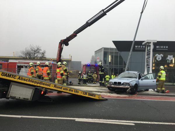 Erster Verkehrsunfall des Jahres gleich am Neujahrstag