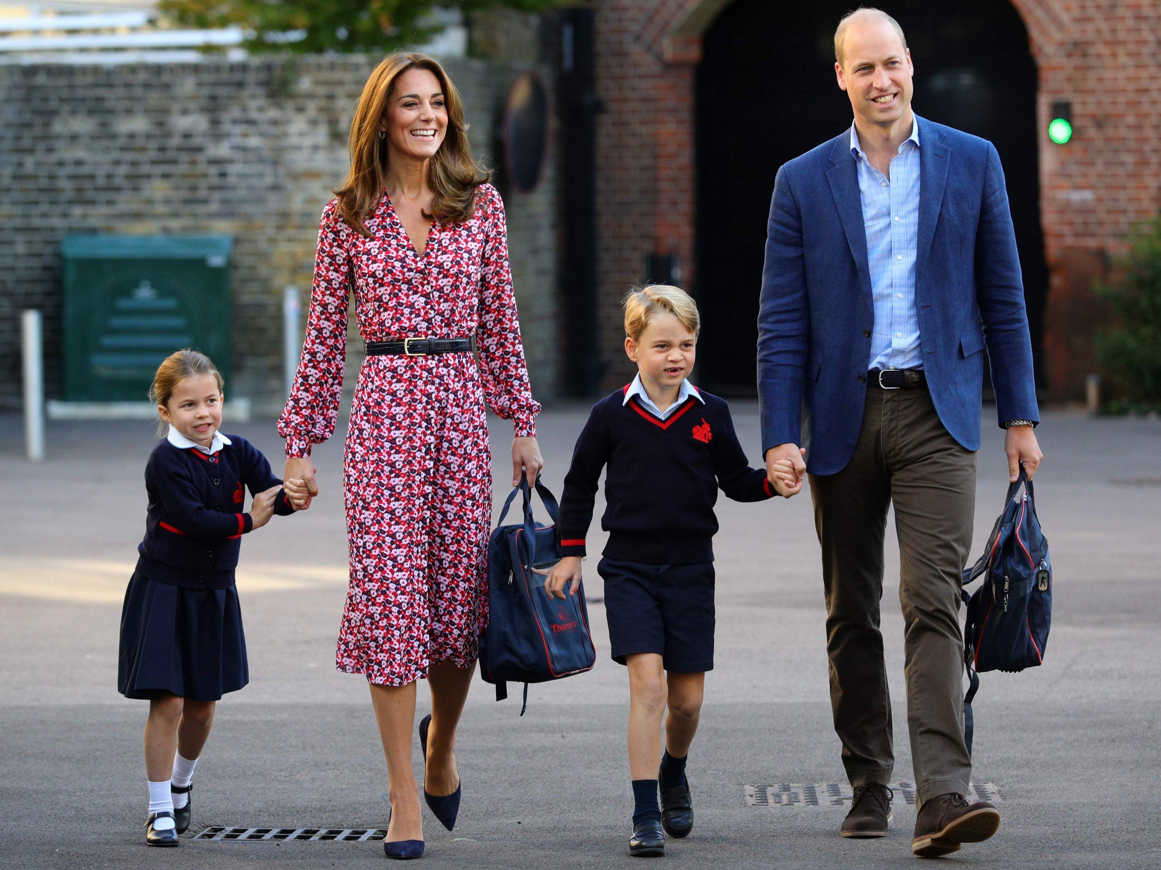Coronavirus-Verdacht: Sind Prinz George und Prinzessin Charlotte in Gefahr?