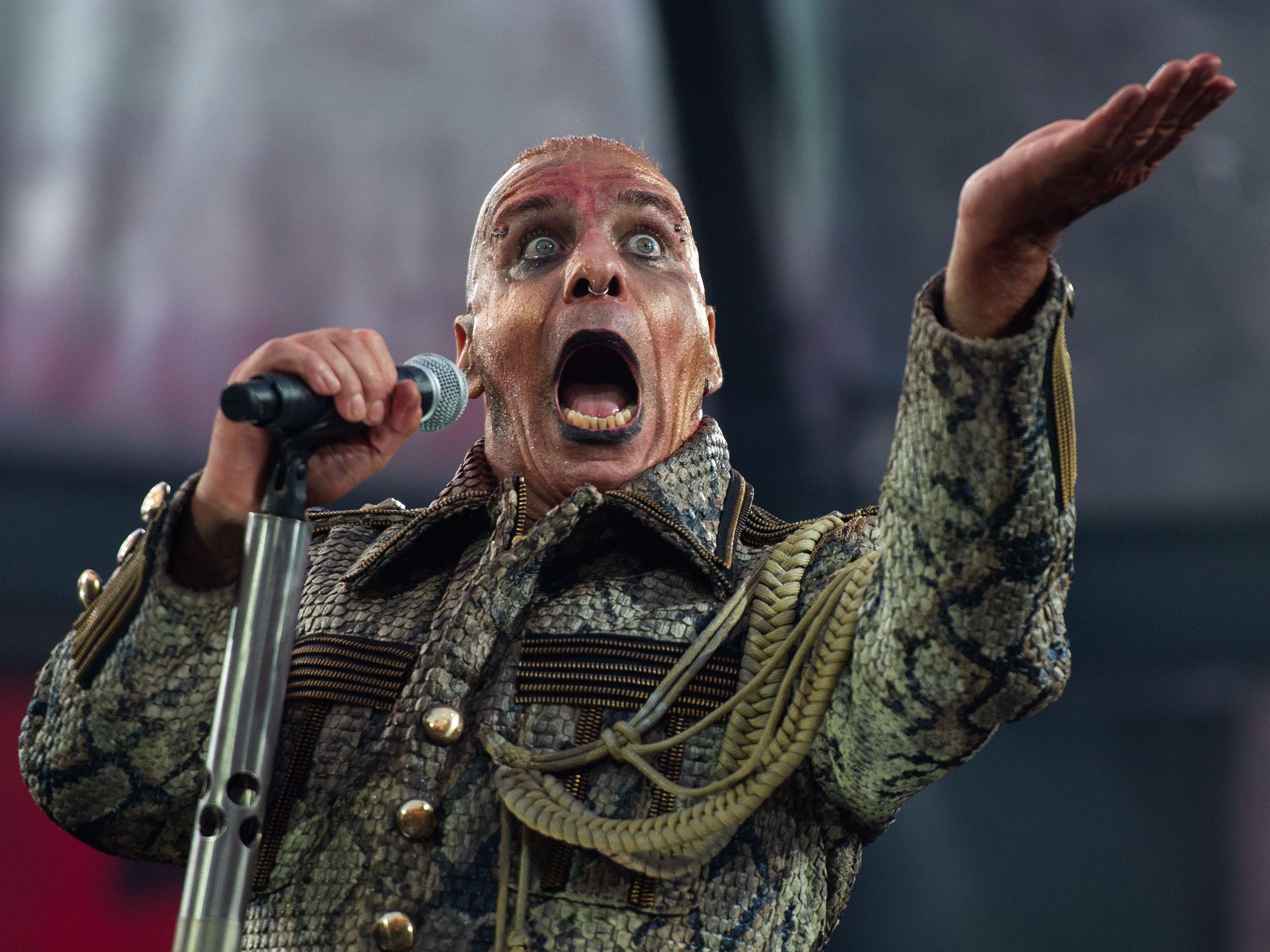 Rammstein-Sänger auf der Intensivstation