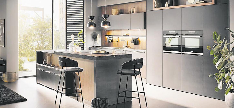 Die Küche ist das Fundament allen Glücks