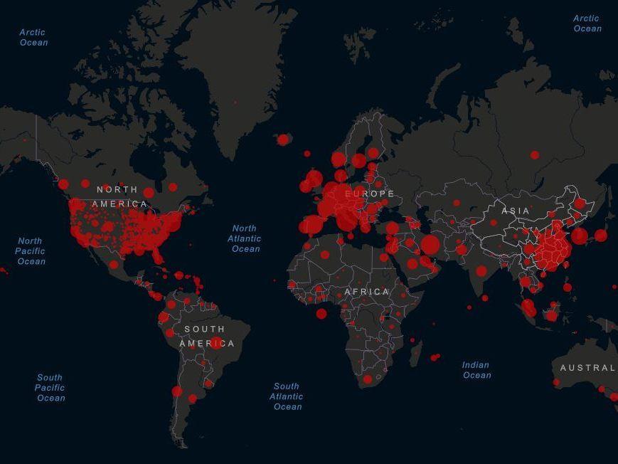 Coronavirus Welt Live