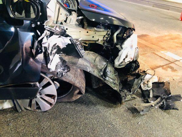 Unfall im Pfändertunnel - Mindestens eine verletzte Person