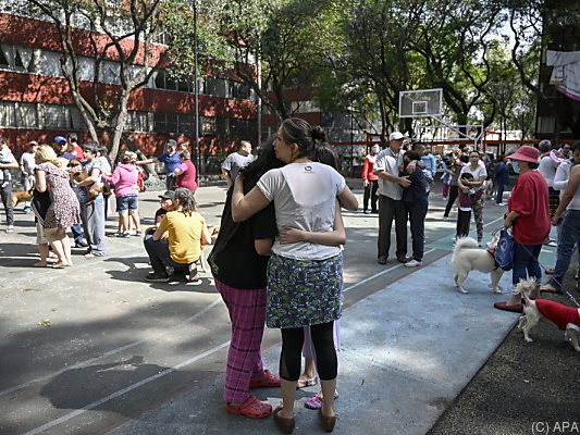 Schweres Erdbeben erschüttert Mexikos Süden