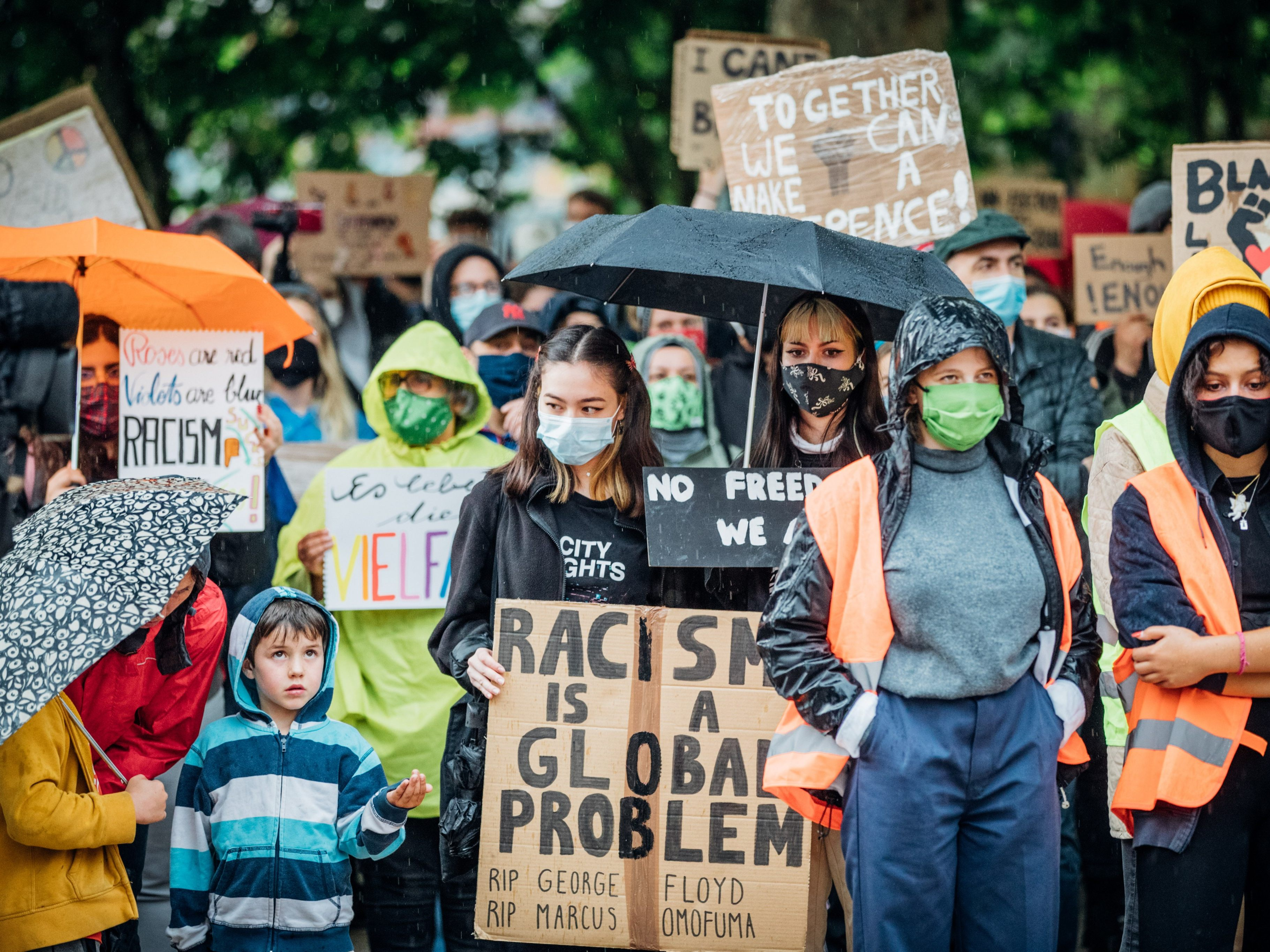 #BlackLivesMatter: Live von der Kundgebung in Bregenz
