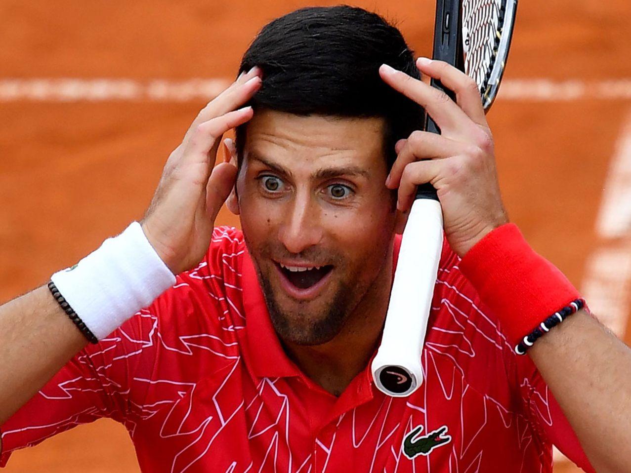 Die Irre Welt Des Novak Djokovic Sport VOL AT VOL AT