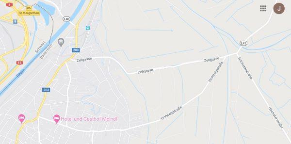 Lustenau: Unfall in der Zellgasse