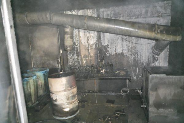 Brand auf Firmengelände bei Getzner Werkstoffe
