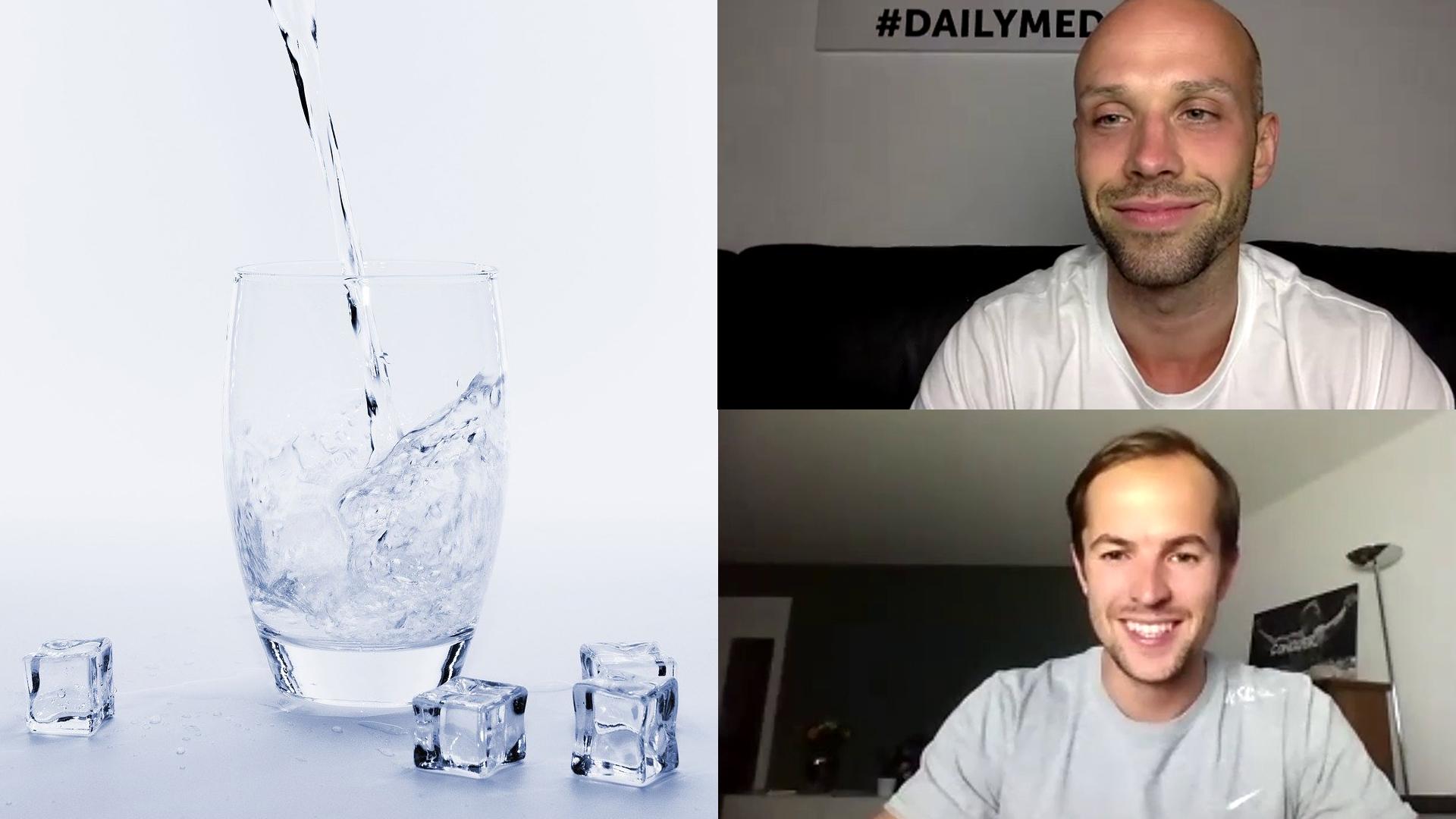 So viel sollte jeder trinken: Pro 20 Kilogramm ein Liter Wasser
