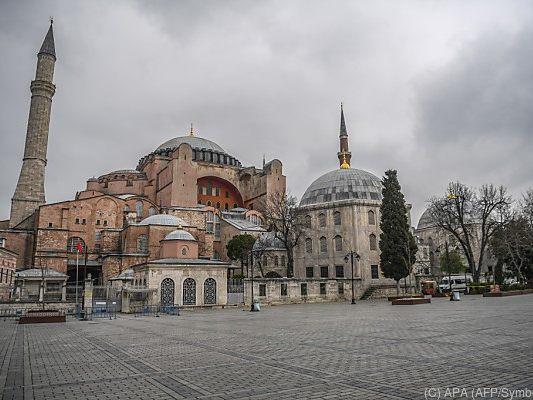 Türkei - Türkisches Gericht prüft Museums-Status der Hagia Sophia in Istanbul