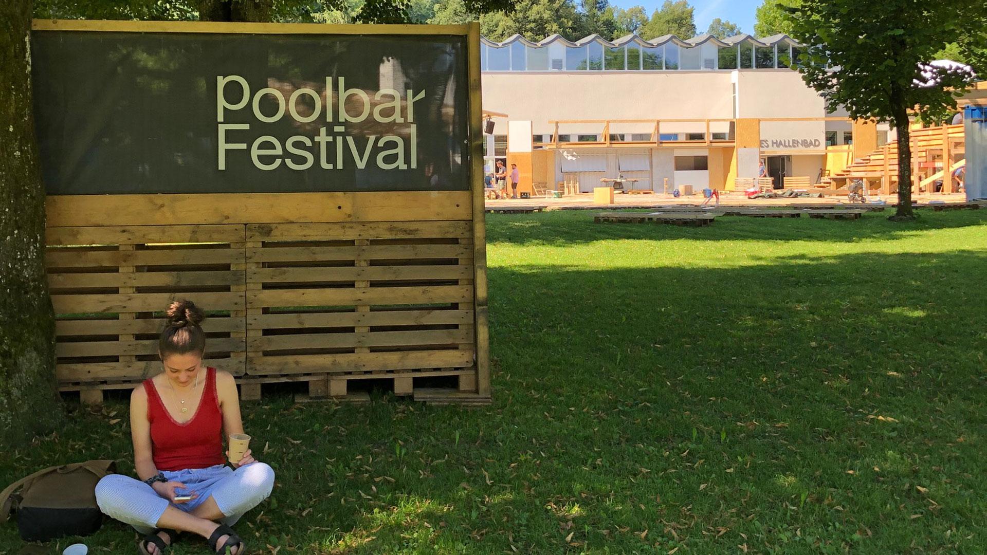 Start ins poolbar-Festival