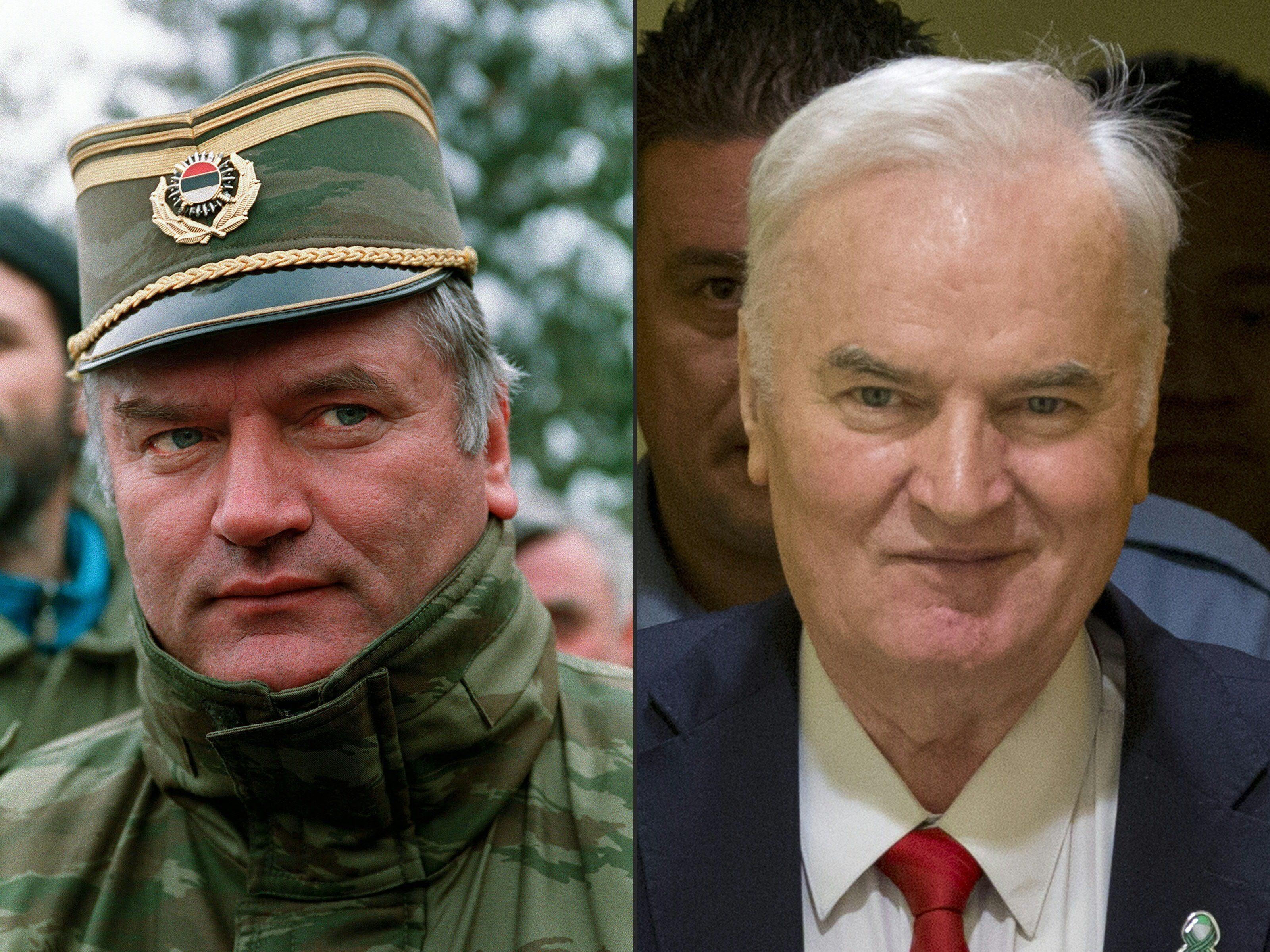 Srebrenica-Massaker: Serbischer Ex-General Mladic will Freispruch