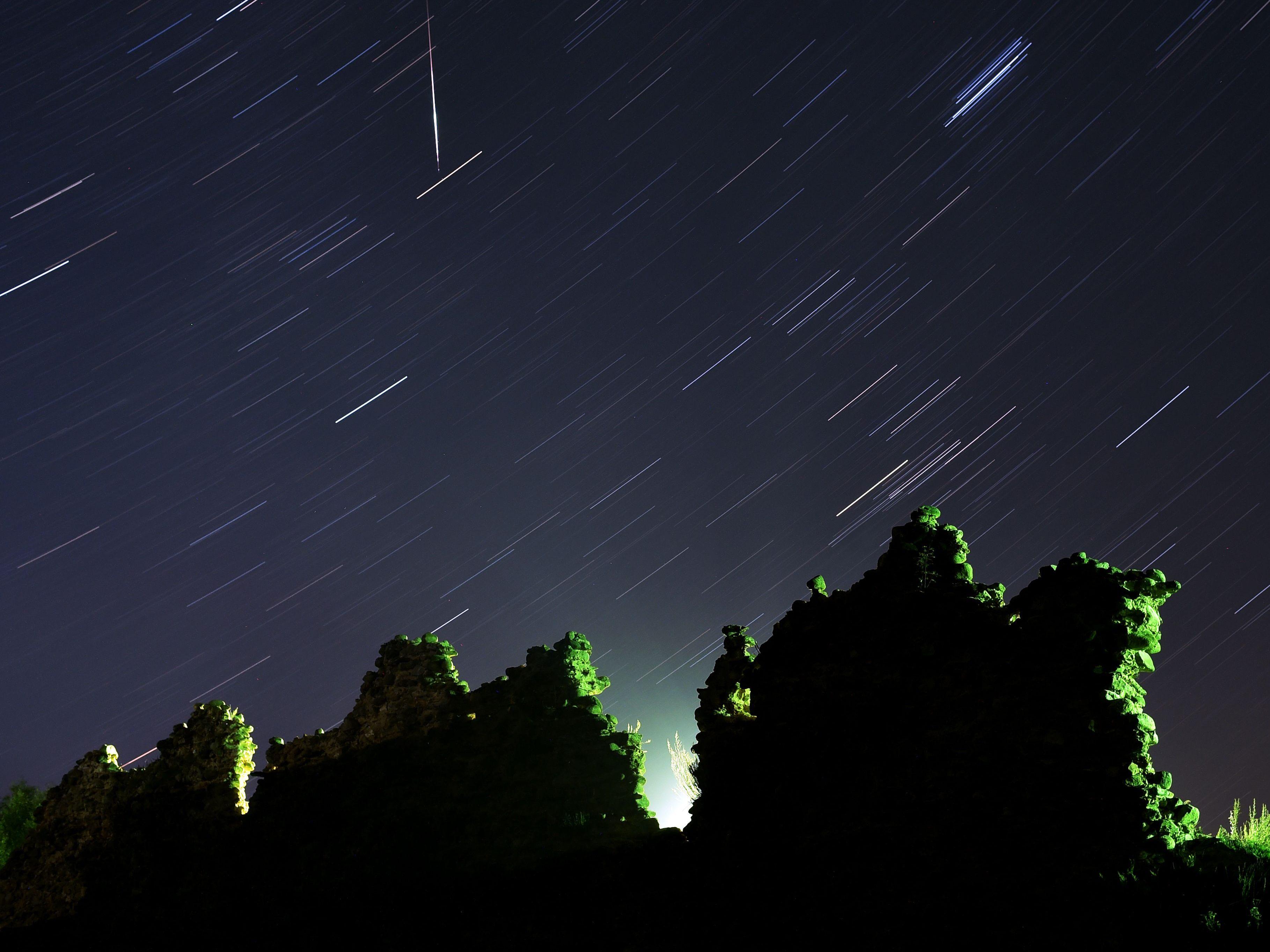 Perseiden - Sternschnuppenregen erreicht Höhepunkt