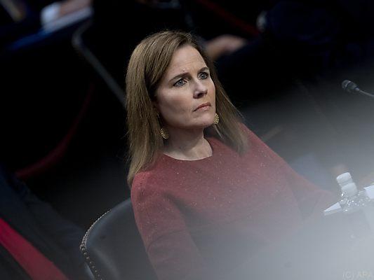 Neubesetzung Oberstes Gericht: Anhörung von Amy Coney Barret vor US-Senat