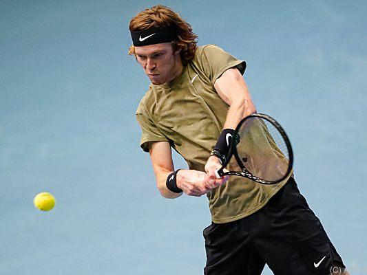 Rublew und Sonego im Finale der Erste Bank Open