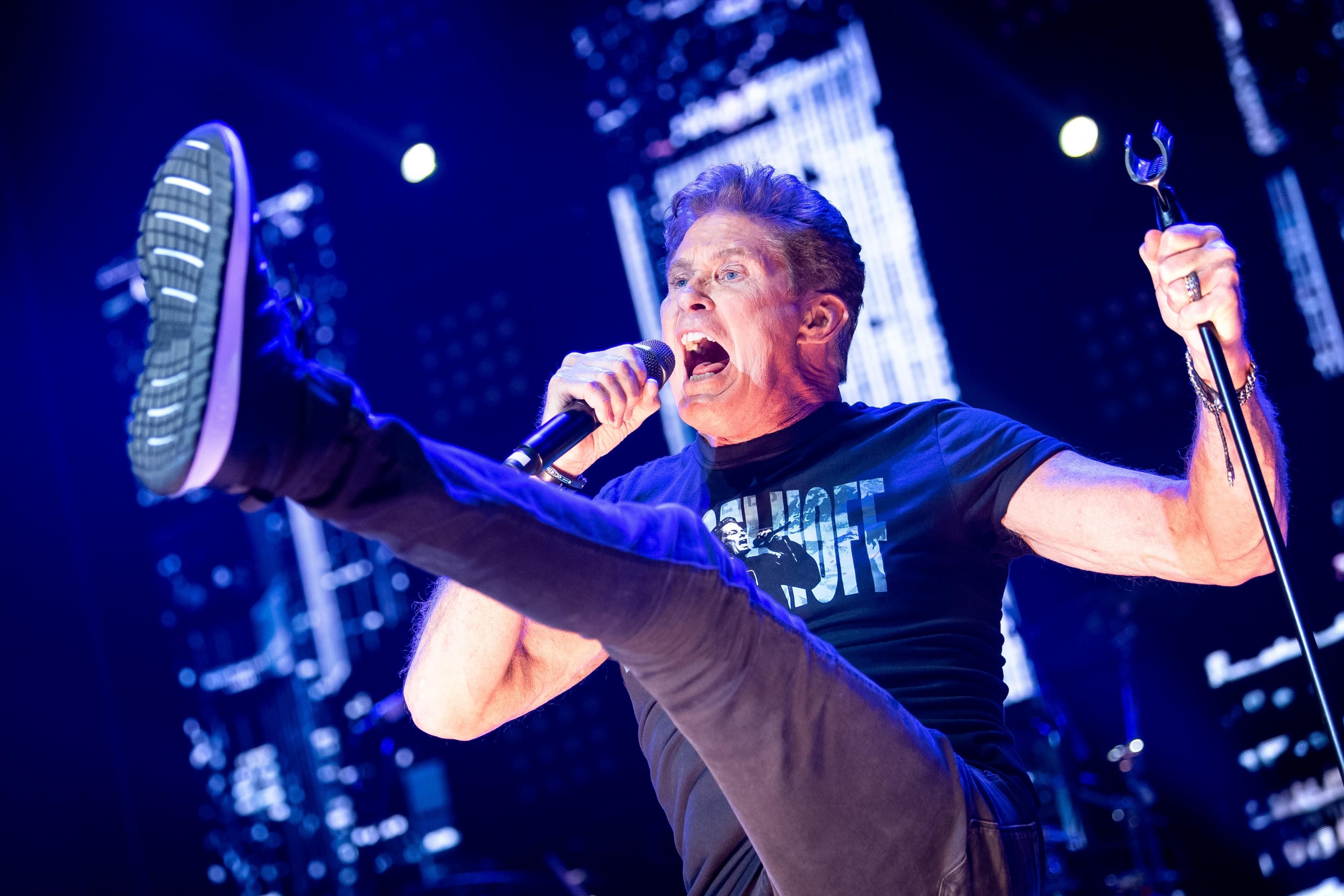 David Hasselhoff nahm Song mit Wiener Heavy Metal Band auf