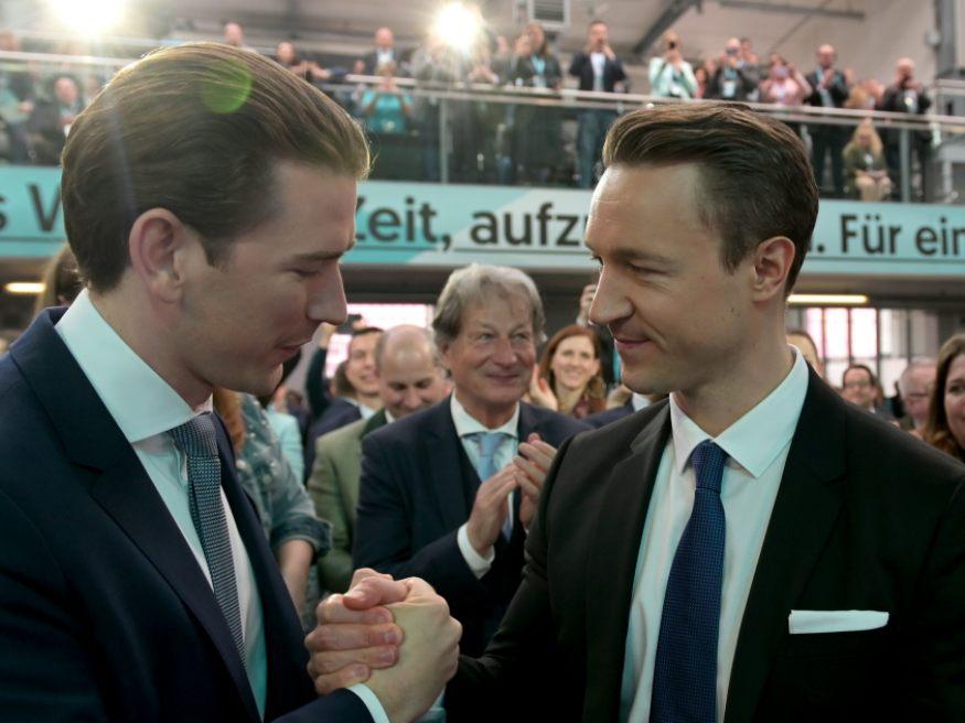Kanzler Kurz Erfreut Bl U00fcmel Auf Platz 2 Bei Wien Wahl