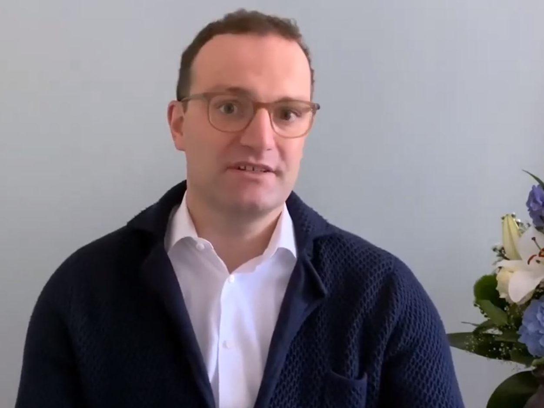 Jens Spahn meldet sich aus der Quarantäne und warnt vor Verharmlosung