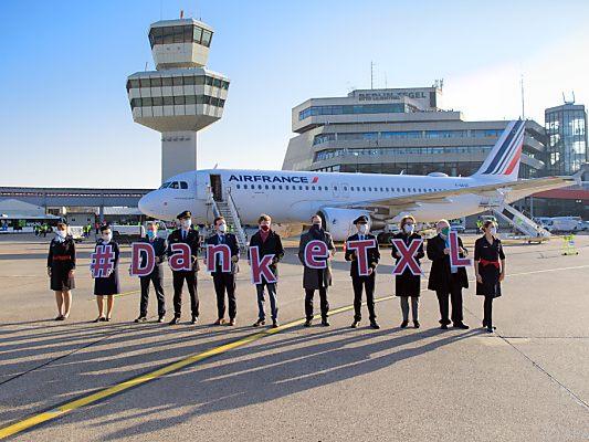Berliner Flughafen Tegel endgültig geschlossen