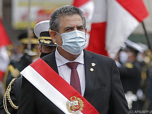 Manuel Merino: Perus Übergangspräsident tritt nach fünf Tagen im Amt zurück