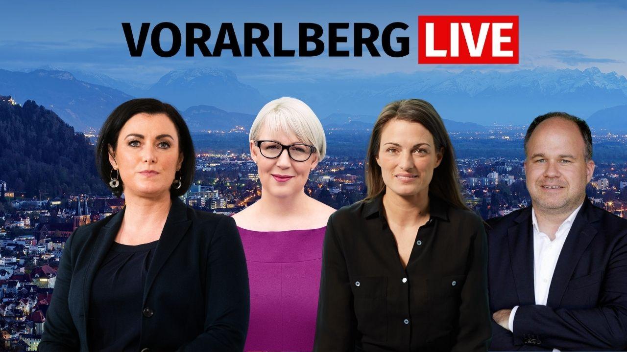 Vorarlberg live mit Konrad, Scheffknecht und Köstinger