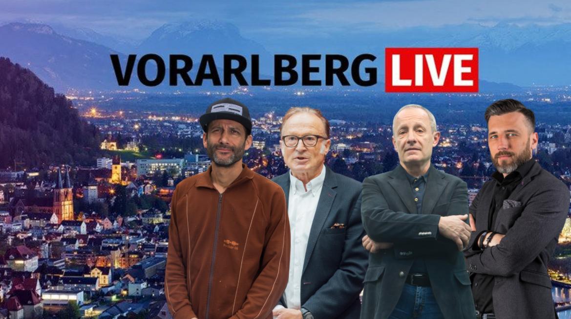 Vorarlberg Live mit Pilz, Muxel und Bauer