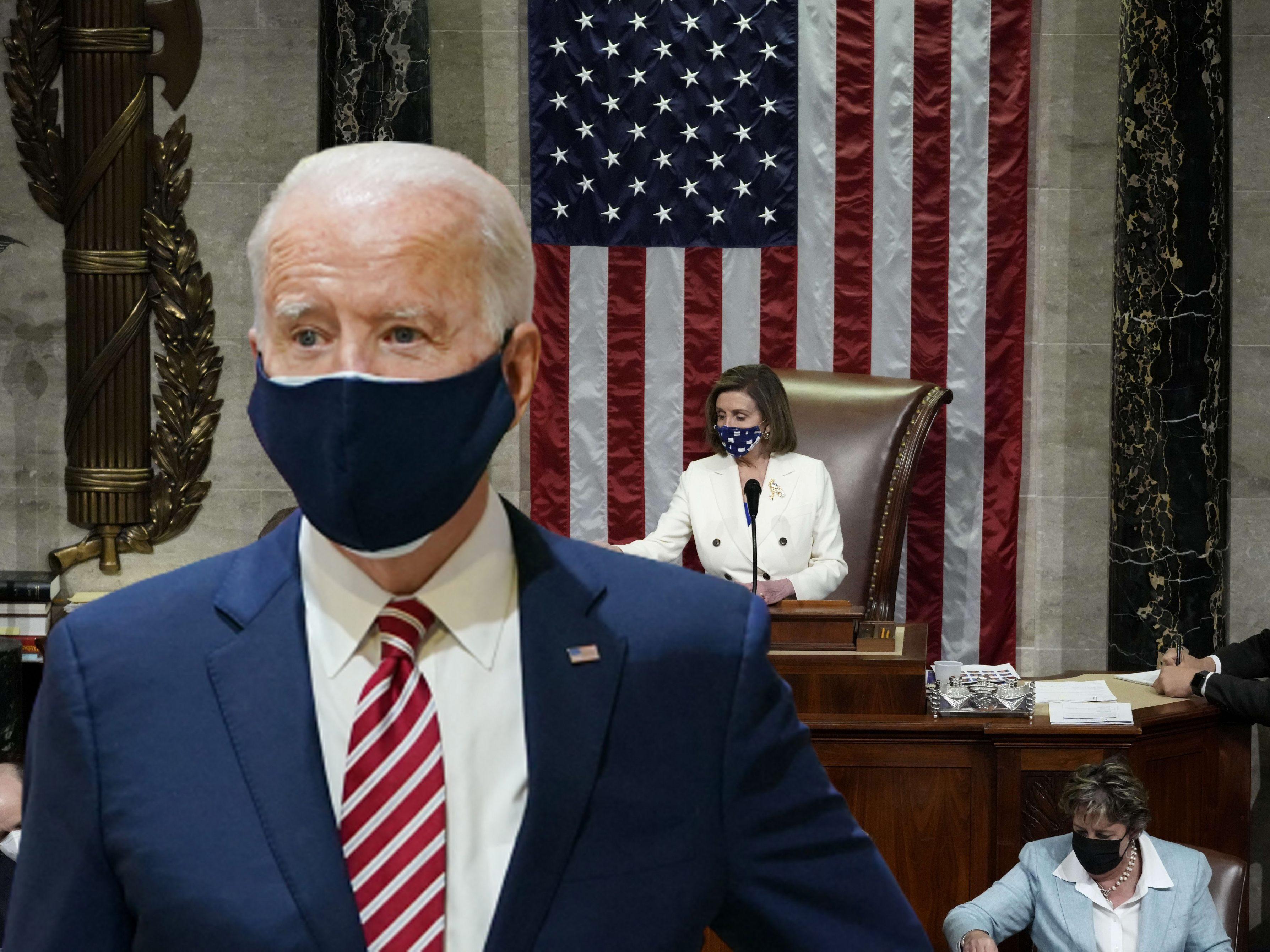 Sieg für Biden: US-Kongress verabschiedet billionenschweres Corona-Hilfspaket