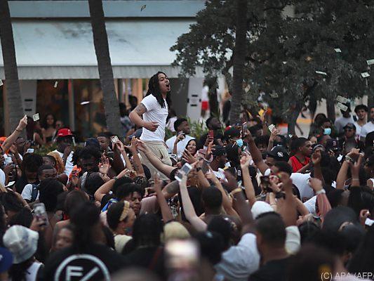 Ausgangssperre in Miami Beach wegen