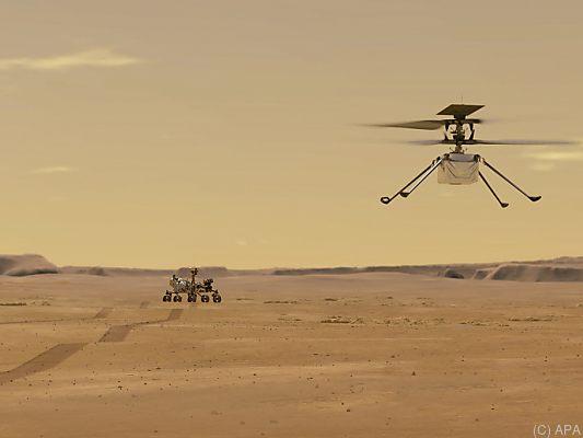 Neuer-Anlauf-f-r-Mars-Erstflug-von-Hubschrauber-quot-Ingenuity-quot-