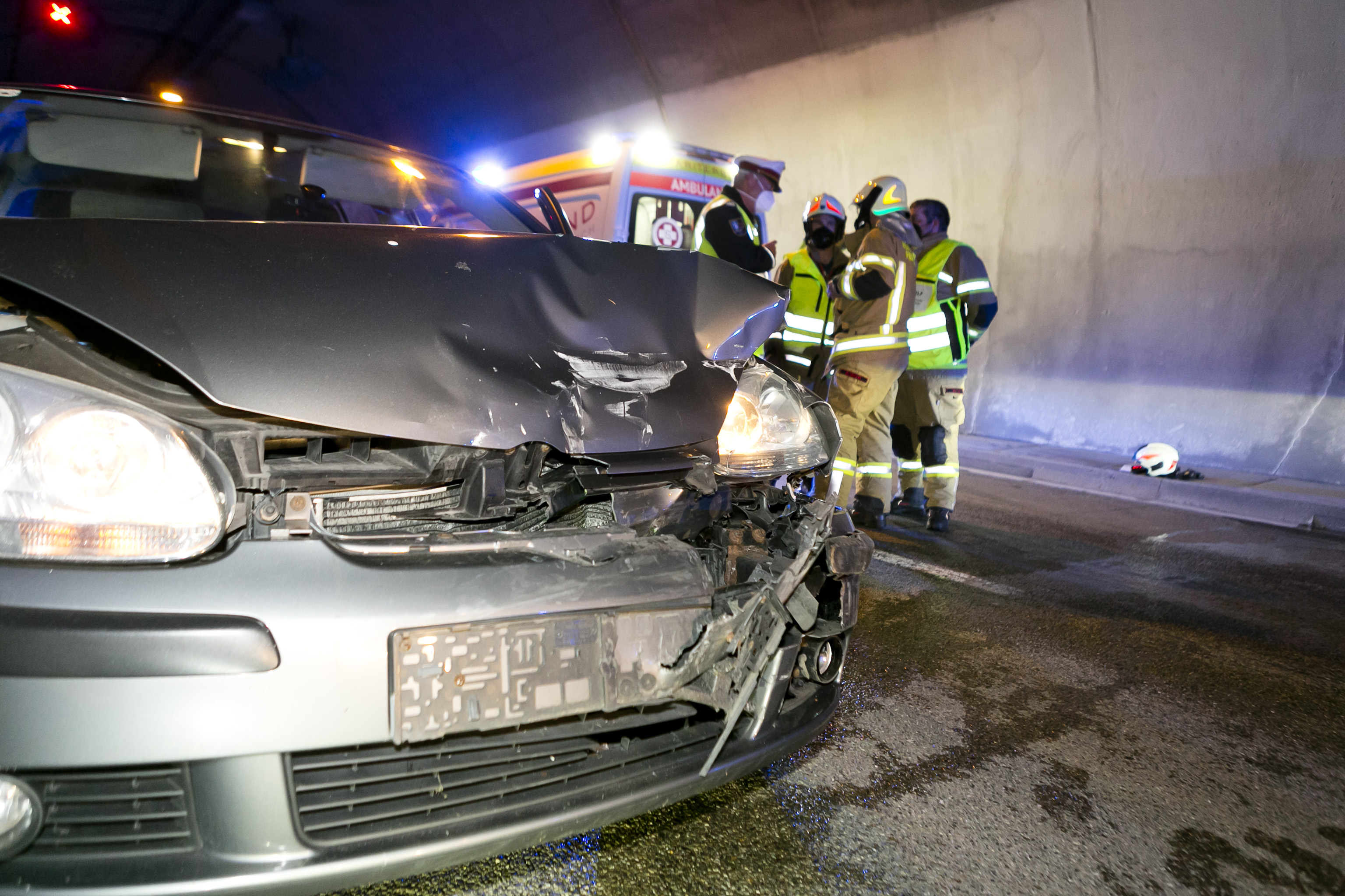 Unfall bei Überholvorgang forderte zwei Verletzte