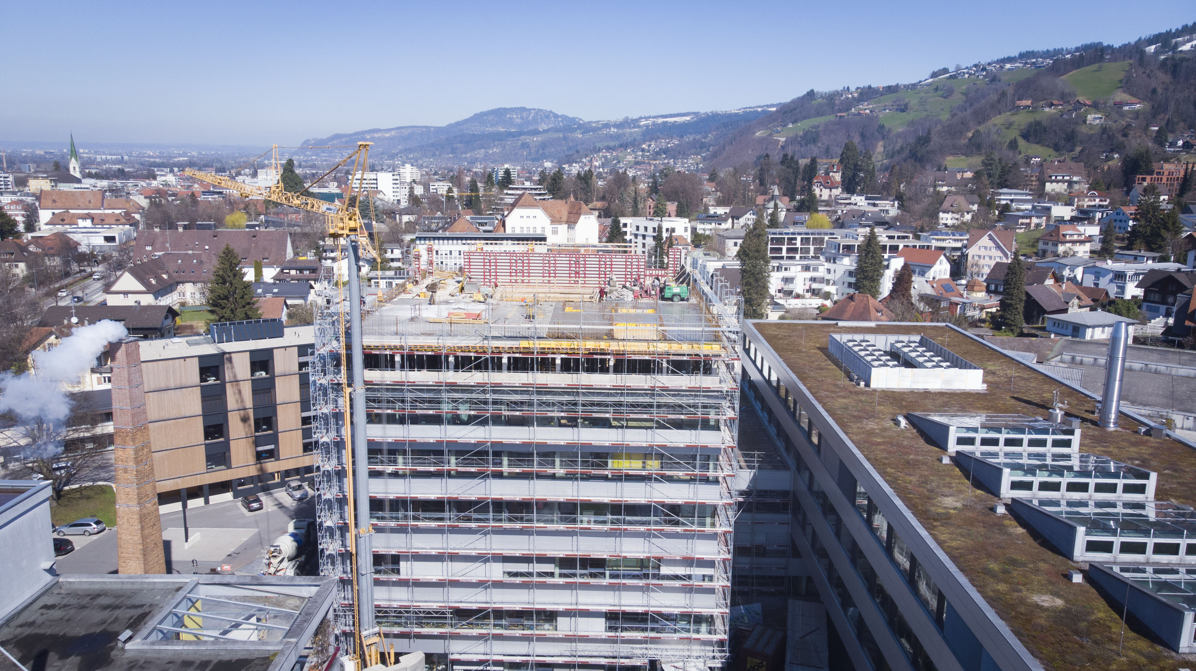 Ausbau der FH Vorarlberg voll im Zeitplan