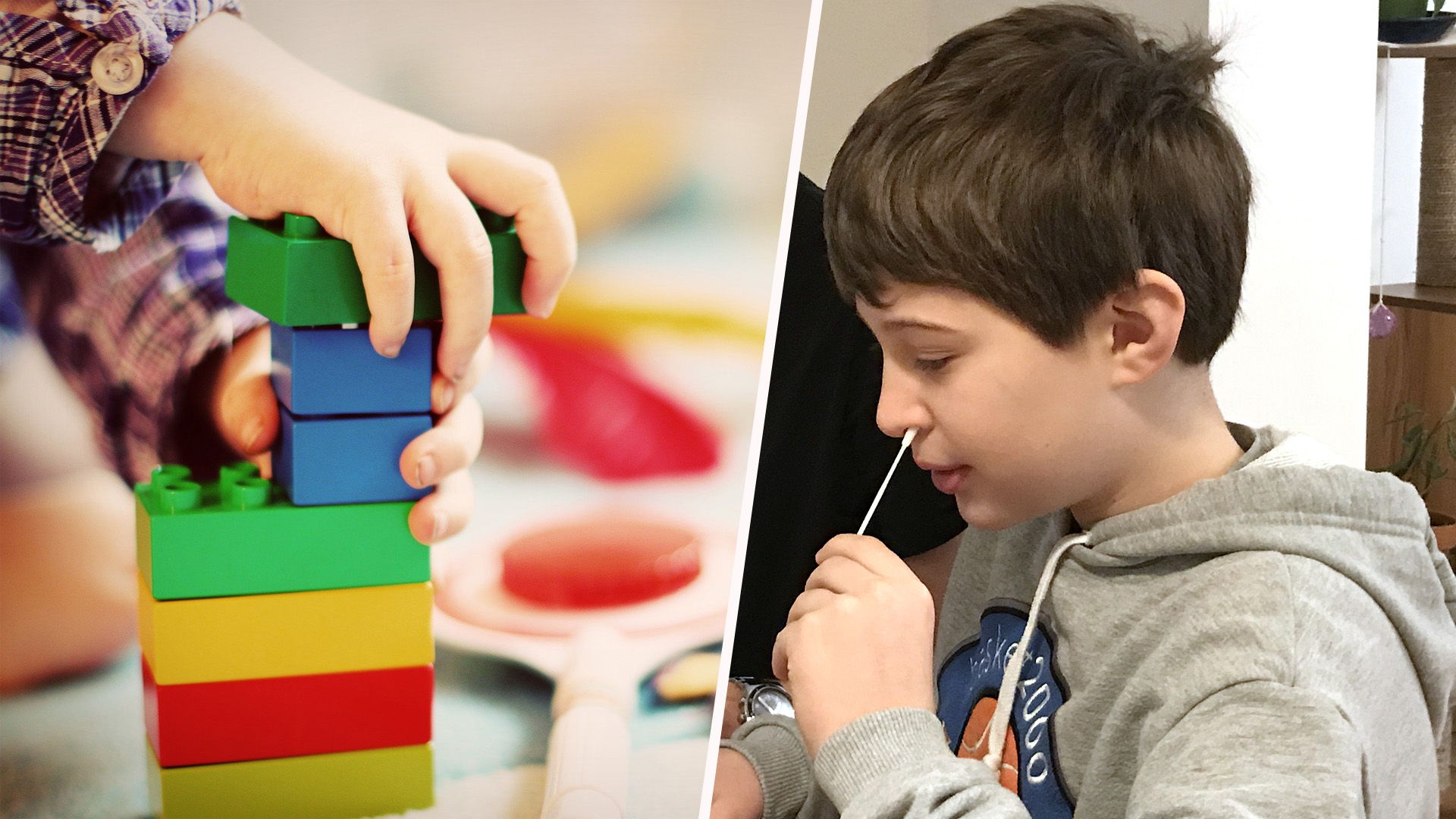 Freiwillige Covid-Tests jetzt auch für Kindergarten-Kinder