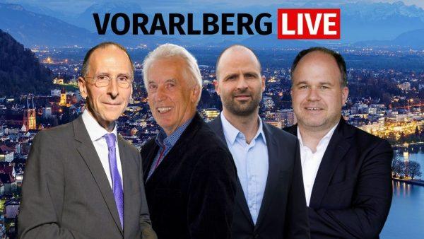 Filzmaier, Löffler und Tittler bei Vorarlberg LIVE