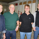 Ein starkes Team: Josef Maurer, Gerhard Bilgeri, Josef Eberle und Stefan Bilgeri. - Ein starkes Team: Josef Maurer, Gerhard Bilgeri, Josef Eberle und Stefan Bilgeri.