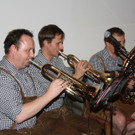 Musikanten der Eckbonkmusig spielten auf. - Musikanten der Eckbonkmusig spielten auf.