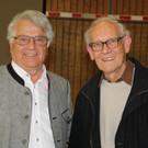 Die ehemaligen Direktoren: Herbert Klas und Hubert Franz. - Die ehemaligen Direktoren: Herbert Klas und Hubert Franz.